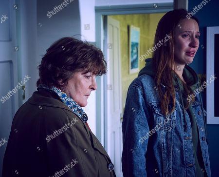 Brenda Blethyn as Vera and Emily Stott as Georgia Hay.