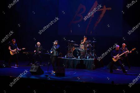 Randy Flowers, Nick Dimicino, John Miceli, Caleb Johnson and Paul Crook