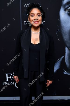 Editorial photo of 'A Fall From Grace' film premiere, Arrivals, Metrograph Theater, New York, USA - 13 Jan 2020