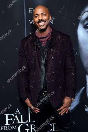 Editorial image of 'A Fall From Grace' film premiere, Arrivals, Metrograph Theater, New York, USA - 13 Jan 2020