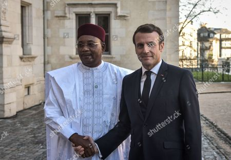 Emmanuel Macron, Mahamadou Issoufou