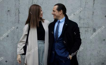 Editorial photo of Fashion Mens F/W 20/21 Giorgio Armani, Milan, Italy - 13 Jan 2020
