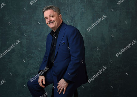 """Nathan Lane, a cast member in the Showtime series """"Penny Dreadful: City of Angels,"""" poses for a portrait during the 2020 Showtime Winter Television Critics Association Press Tour, in Pasadena, Calif"""