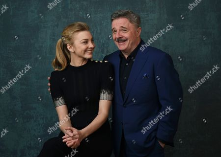 """Stock Photo of Nathan Lane, Natalie Dormer. Natalie Dormer, left, and Nathan Lane, cast members in the Showtime series """"Penny Dreadful: City of Angels,"""" pose together for a portrait during the 2020 Showtime Winter Television Critics Association Press Tour, in Pasadena, Calif"""