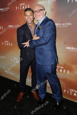 Wilson Cruz and Akiva Goldsman