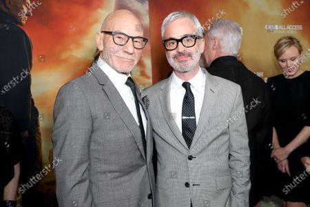 Sir Patrick Stewart and Alex Kurtzman
