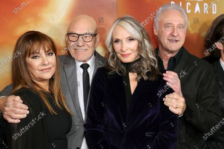 Editorial image of 'Star Trek: Picard' TV show premiere, Arrivals, The Dome, Los Angeles, USA - 13 Jan 2020
