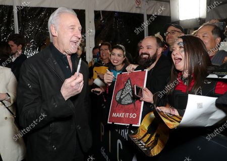 Editorial picture of 'Star Trek: Picard' TV show premiere, Arrivals, The Dome, Los Angeles, USA - 13 Jan 2020