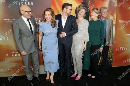 Sir Patrick Stewart, Sunny Ozell and guests