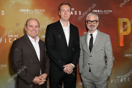 Stock Picture of David Stapf, Marc DeBevoise and Alex Kurtzman