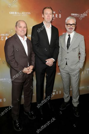Stock Photo of David Stapf, Marc DeBevoise and Alex Kurtzman