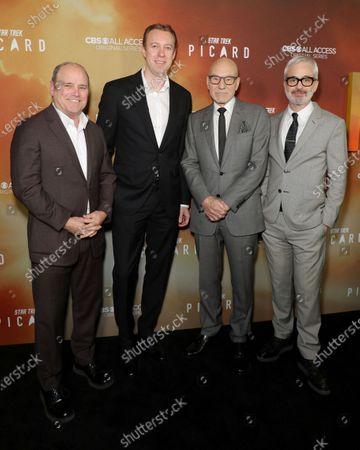 Sir Patrick Stewart, Alex Kurtzman and guests