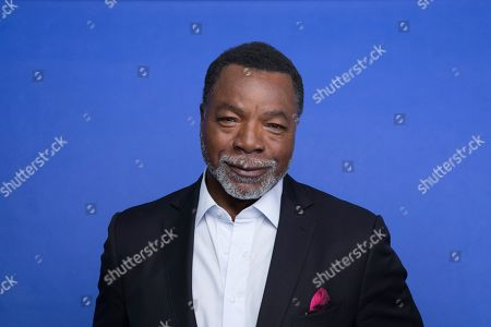 "In this Oct. 19. 2019 photo, Carl Weathers poses at the Disney + launch event promoting ""The Mandalorian"" at the London West Hollywood hotel in West Hollywood, Calif"