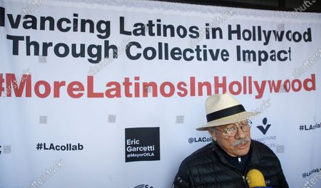 Editorial image of LA Collab initiative launched for more Latino representation in Hollywood, Los Angeles, USA - 13 Jan 2020