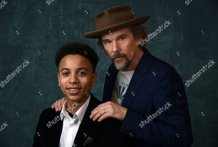"""Editorial picture of 2020 Winter TCA - """"The Good Lord Bird"""" Portrait Session, Pasadena, USA - 13 Jan 2020"""