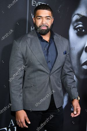 Editorial picture of 'A Fall From Grace' film premiere, Arrivals, Metrograph Theater, New York, USA - 13 Jan 2020