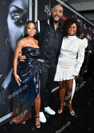 Stock Image of Bresha Webb, Tyler Perry and Crystal Foxx