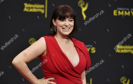 "Rachel Bloom arrives at night two of the Creative Arts Emmy Awards at the Microsoft Theater in Los Angeles. Pop TV has ordered a comedy pilot focused on the most irresponsible and lazy person getting impregnated by immaculate conception. ""Mother Mary"" co-stars Bloom, who won a Golden Globe for ""Crazy Ex-Girlfriend,"" which ended last spring after four seasons. She plays the mother of the Antichrist"