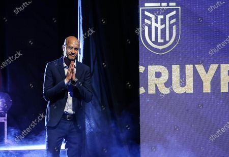 Editorial photo of Jordi Cruyff announced as new coach of Ecuador, in Quito - 14 Jan 2020