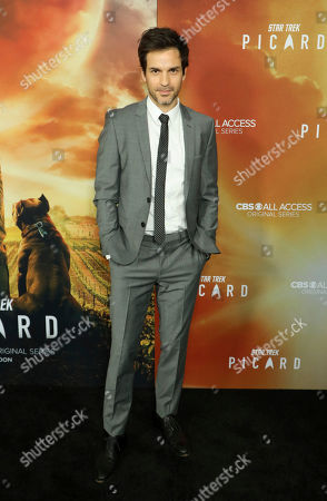 """Santiago Cabrera attends the LA Premiere of """"Star Trek: Picard"""" at the ArcLight Hollywood, in Los Angeles"""