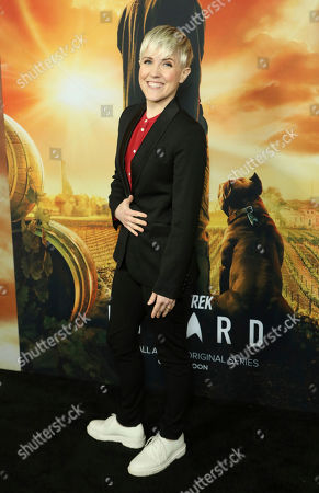 """Stock Image of Hannah Hart attends the LA Premiere of """"Star Trek: Picard"""" at the ArcLight Hollywood, in Los Angeles"""