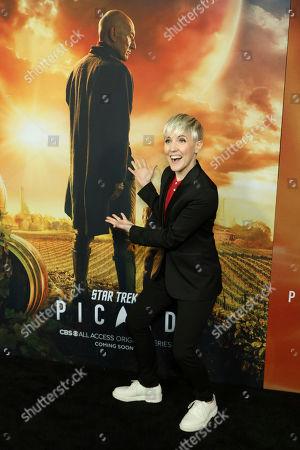 "Editorial image of LA Premiere of ""Star Trek: Picard"", Los Angeles, USA - 13 Jan 2020"