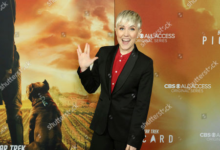 """Hannah Hart attends the LA Premiere of """"Star Trek: Picard"""" at the ArcLight Hollywood, in Los Angeles"""