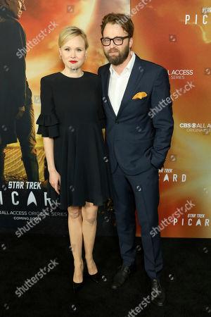 "Alison Pill, Joshua Leonard. Alison Pill, left, and Joshua Leonard attend the LA Premiere of ""Star Trek: Picard"" at the ArcLight Hollywood, in Los Angeles"