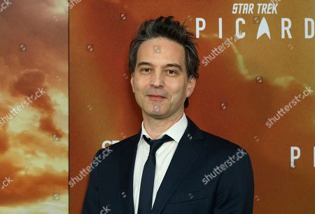 """Stock Photo of Jeff Russo attends the LA Premiere of """"Star Trek: Picard"""" at the ArcLight Hollywood, in Los Angeles"""