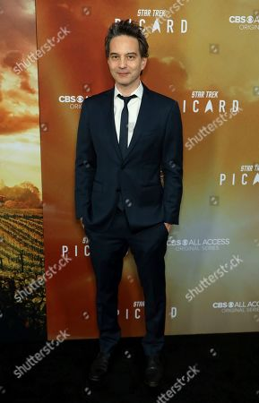 """Jeff Russo attends the LA Premiere of """"Star Trek: Picard"""" at the ArcLight Hollywood, in Los Angeles"""