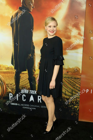 """Alison Pill attends the LA Premiere of """"Star Trek: Picard"""" at the ArcLight Hollywood, in Los Angeles"""