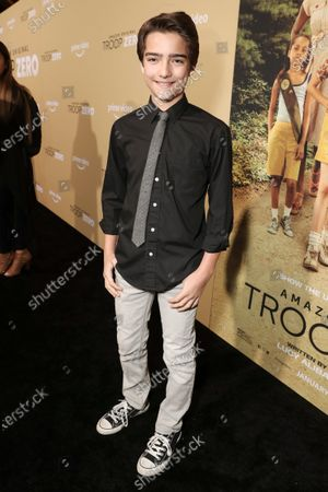 Editorial picture of Amazon Studios Troop Zero Los Angeles Premiere, Arrivals, USA - 13 Jan 2020