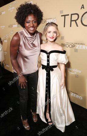 Viola Davis and Mckenna Grace