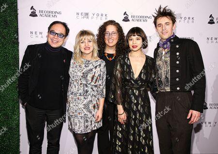 Stock Photo of David Lai, Mara Isaacs, Anais Mitchell, Eva Noblezada and Reeve Carney