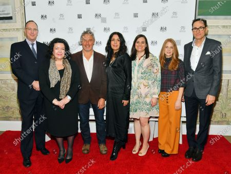 Editorial image of 'Seven Worlds, One Planet' film screening, Arrivals, New York, USA - 13 Jan 2020