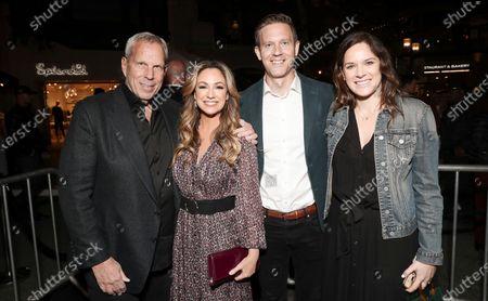 Steve Tisch, Matt Newman and Julie Rapaport