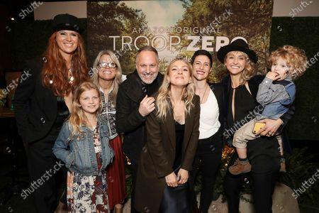 Bertie, Johanna Colon, Lucy Alibar, Bert and guests