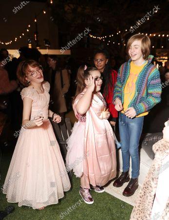 Bella Higginbotham, Johanna Colon and Charlie Shotwell