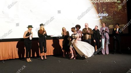 Stock Image of Bertie, Bert, Lucy Alibar, Mckenna Grace, Viola Davis, Jim Gaffigan, Allison Janney and Ash Thapliyal