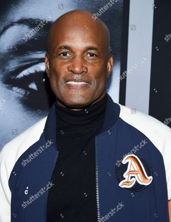"""Kenny Leon attends the premiere of Tyler Perry's """"A Fall from Grace"""" at Metrograph, in New York"""