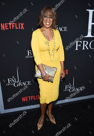 "Stock Picture of Gayle King attends the premiere of Tyler Perry's ""A Fall from Grace"" at Metrograph, in New York"