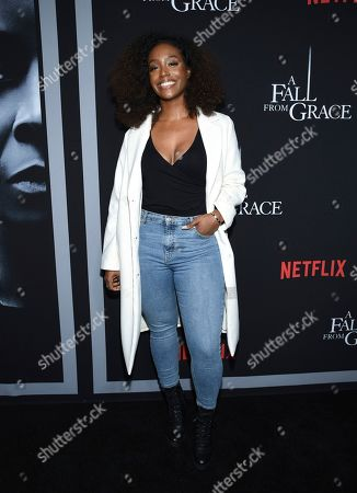 """Editorial photo of NY Premiere of Tyler Perry's """"A Fall from Grace"""", New York, USA - 13 Jan 2020"""