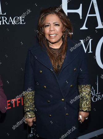 "Valerie Simpson attends the premiere of Tyler Perry's ""A Fall from Grace"" at Metrograph, in New York"
