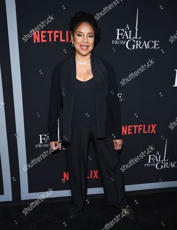 "Phylicia Rashad attends the premiere of Tyler Perry's ""A Fall from Grace"" at Metrograph, in New York"