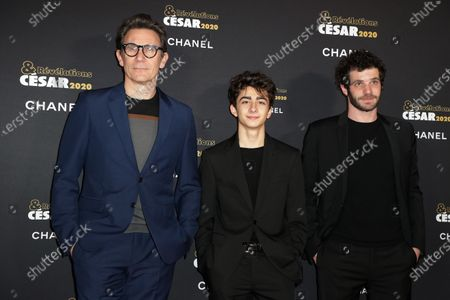 Michel Hazanavicius, Mathieu Capella and Felix Moati