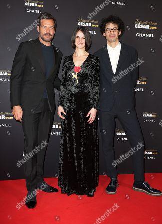 Laurent Lafitte, Jennifer Decker, Lucas Bernard