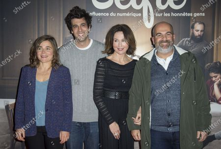Blanche Gardin, Max Boublil, Elsa Zylberstein and Marc Fitoussi