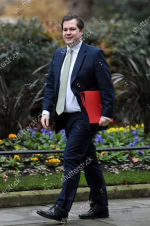 Robert Jenrick, Secretary of State for Housing, Communities and Local Government, arriving at No.10 Downing Street, London.