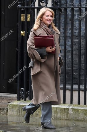 Esther McVey, Housing Minister, leaving No.10 Downing Street after attending a cabinet meeting, London.