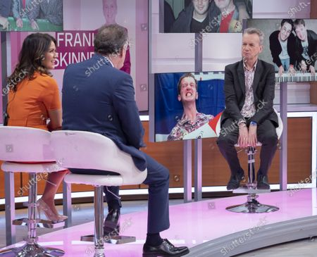 Piers Morgan and Susanna Reid with Frank Skinner